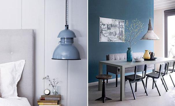 Interieur p inspiratie eyecatching lampen fashionlab for Industriele lamp keuken