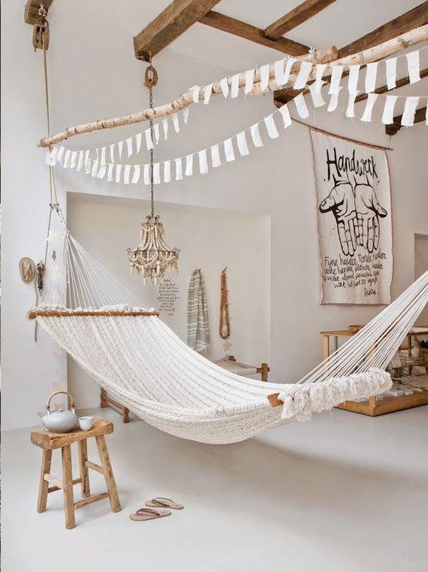 De mooiste hangmatten voor binnen en buiten fashionlab - Kamer trend ...