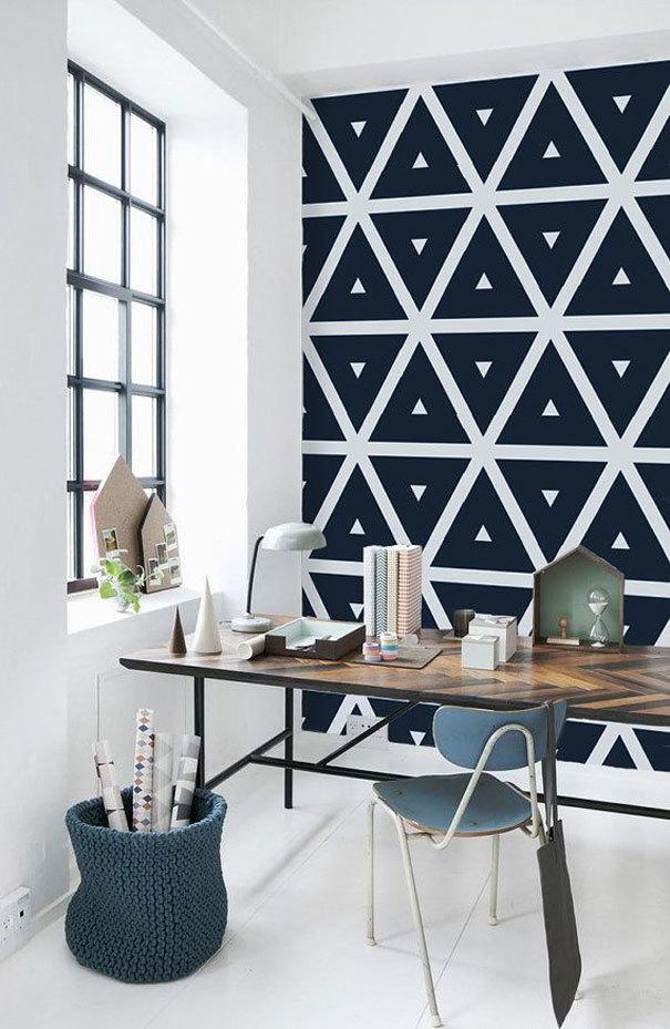 De leukste behangetjes voor in de slaapkamer woonkamer en zelfs badkamer fashionlab - Wallpaper volwassen kamer trendy ...