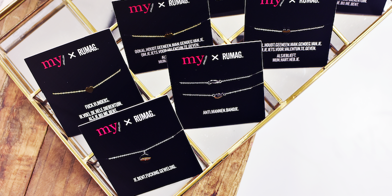 Anti Mannen Armbandjes Rumag X My Jewellery Nu Verkrijgbaar Fashionlab