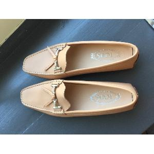 Supertrash laarzen fringe met sleehak maat 40 (beigetaupe